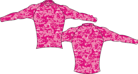 BREAST CANCER LONG SLEEVE BASE LAYER
