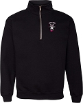 GORILLA RUGBY  POLY COTTON QUARTER ZIP SUBLIMATED TWILL LOGO