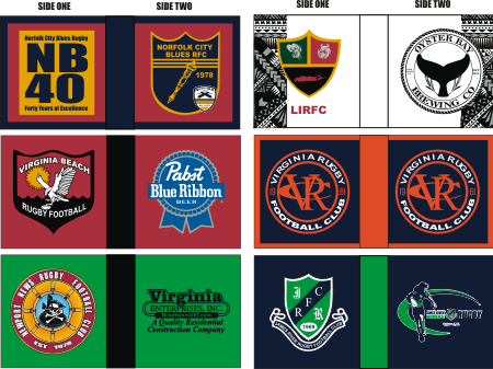 CUSTOM SUBLIMATED FIELD FLAG COVERS