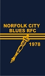 NORFOLK BLUES BATH TOWEL