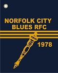 NORFOLK BLUES GOLF TOWEL