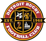 DETROIT RFC WINDOW CLING/ CAR STICKER