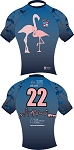 201 Memphis Flamingoes RugbySkins OMG Jersey