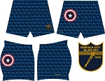 NORFOLK BLUES CAPTAIN AMERICA SHORTS