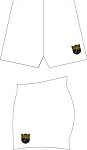 NORFOLK BLUES RUGBYSKINS SDX SHORTS WHITE
