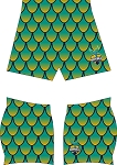 NORFOLK STORM RUGBY FULL SUB SDX SHORTS
