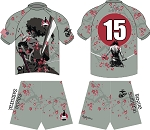 ROGUE SAMURAI N2N ALTERNATE JERSEY AND SHORTS