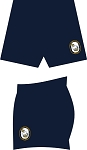 US NAVY RUGBY RUGBYSKINS SDX TRAINING SHORTS NAVY
