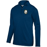 US NAVY RUGBY PERFORMANCE FLEECE QUARTER ZIP PULL OVER