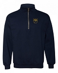 NORFOLK BLUES RUGBY DRI-POWER® FLEECE 1/4 ZIP PULLOVER
