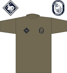 2019 US NAVY RUGBY TRAINING T-SHIRT