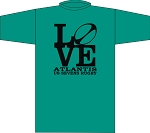 ATLANTIS RUGBY LOVE T SHIRT