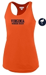 UVA WOMENS WICKING RACERBACK  TANK