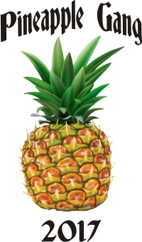 PINEAPPLE GANG RUGBY