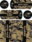 Golden Eagle Sublimated Kit Bag