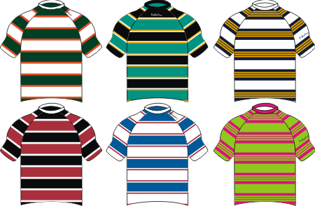 Custom Uneven Hoops Rugby Shirts