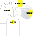 BACK TEN WICKING TANK AND MASK COMBO