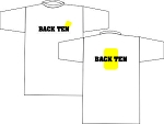 BACK TEN WICKING T-SHIRT