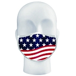 BADGER FLAG LOGO MASK