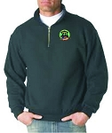 ATLANTIS POLY COTTON QUARTER ZIP SUBLIMATED TWILL LOGO
