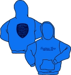 EASTERN BAY RUGBY GILDAN 50/50 HOODY ROYAL