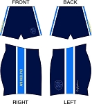 EASTERN BAY SUBLIMATED SHORTS