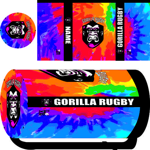 Gorilla Rugby Sublimated Mini Kit Bag