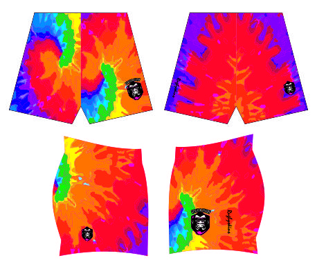 GORILLA RUGBY SUBLIMATED SHORTS