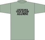 LA TECH RUGBY ALUMNI LOCKER ROOM T- SHIRT