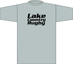 LAKE COUNTRY RUGBY LOCKER ROOM T- SHIRT