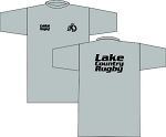 LAKE COUNTRY RUBGY LOGO T- SHIRT