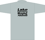 LAKE COUNTRY RUGBY ALUMNI T- SHIRT