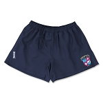 Memphis Flamingo Rugbyskins Rugby Shorts with logo