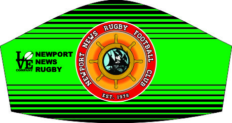 NEWPORT NEWS RUGBY  MASK