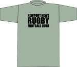 NEWPORT NEWS RUBGY LOCKER ROOM T- SHIRT