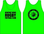 NEWPORT NEWSRUGBY  LOGO WICKING  TANK KELLY