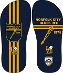 NORFOLK BLUES FLIP FLOP