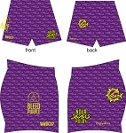 2017 NOVA WOMEN'S RUGBY RUGBYSKINS SDX  SHORTS PURPLE
