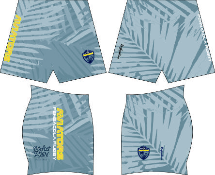 PENSACOLA RUGBY SUBLIMATED SHORTS