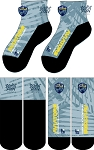 PENSACOLA RUGBY  FULL SUB ANKLE SOCKS