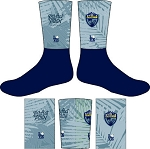 PENSACOLA RUGBY  FULL SUB CREW SOCKS