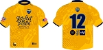 2021 PENSACOLA RUGBY  GOLD MATCH JERSEY (OMG)