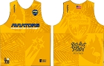 PENSACOLA RUGBY GOLD TRAINING SINGLET