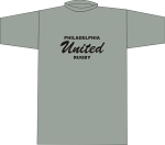 PHILLY UNITED RUBGY LOCKER ROOM T- SHIRT