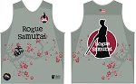ROGUE SAMURAI TRAINING  SINGLET GRAY