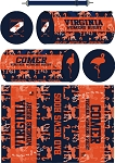 Virginia Women's  Rugby Sublimated Kit Bag