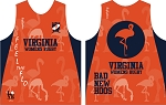 VIRGINIA WOMENS RUGBY TRAINING SINGLET