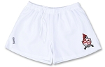 VYI Rugby Shorts with logo WHITE