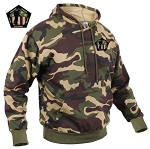 WANDERING WARRIORS POLY-COTTON HOODY