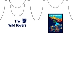 THE WILD ROVERS RUGBY WICKING  TANK